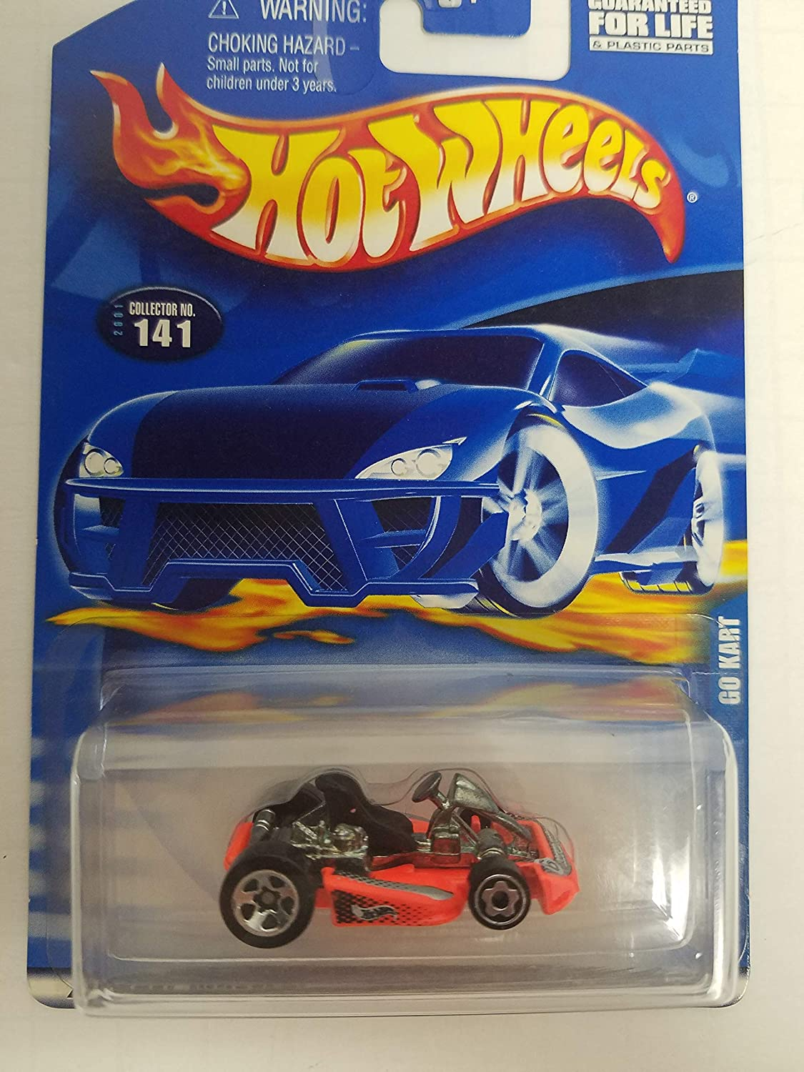 Go Cart Hot Wheels 2001 diecast 1/64 scale car No. 141