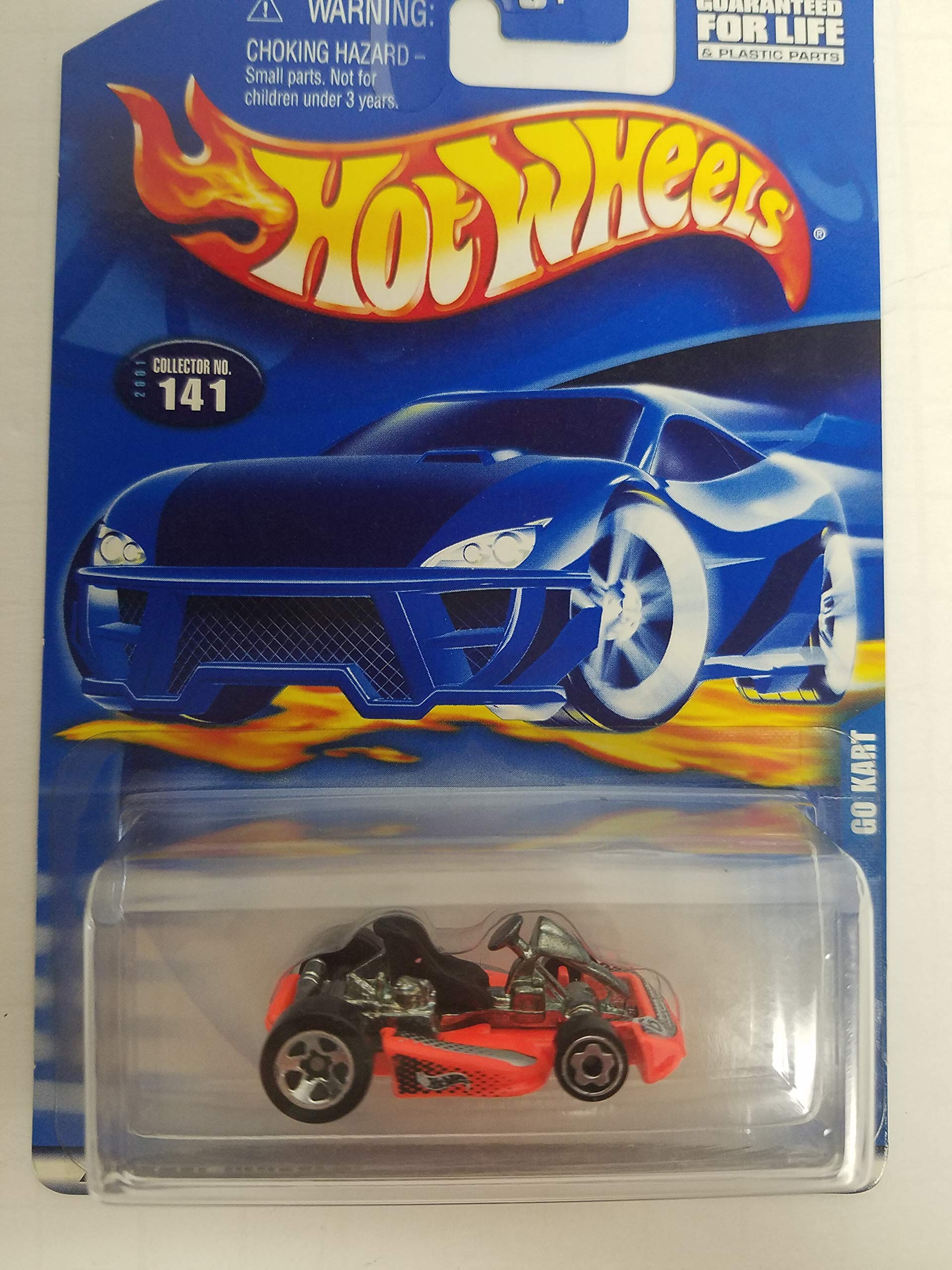 Go Cart Hot Wheels 2001 diecast 1/64 scale car No. 141