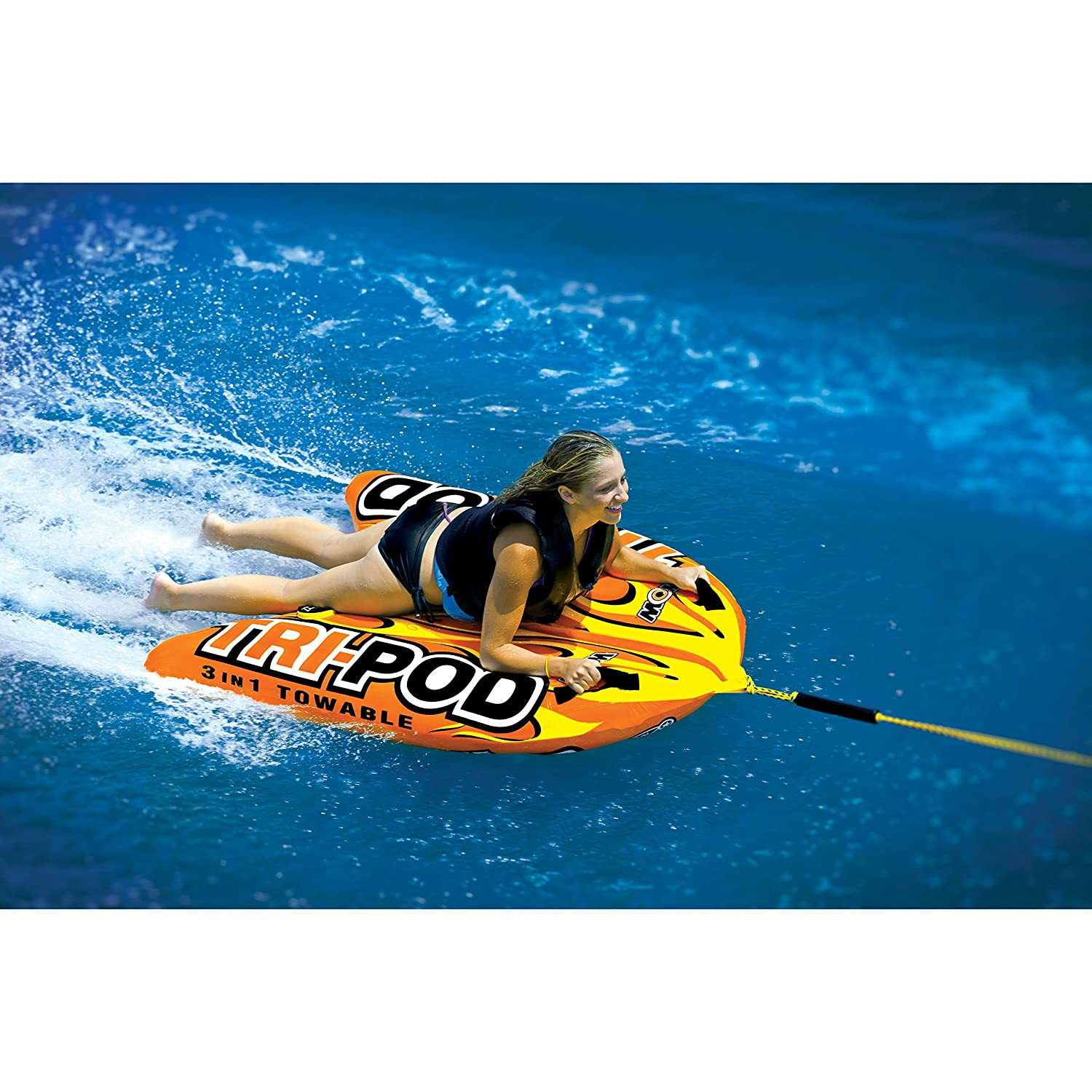 WOW World of Watersports Tri Pod Cockpit or Deck Tube WOW Watersports 13-1020 3 Towables in One
