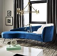 Safavieh Home Collection Evangeline Navy Parisian Sofa