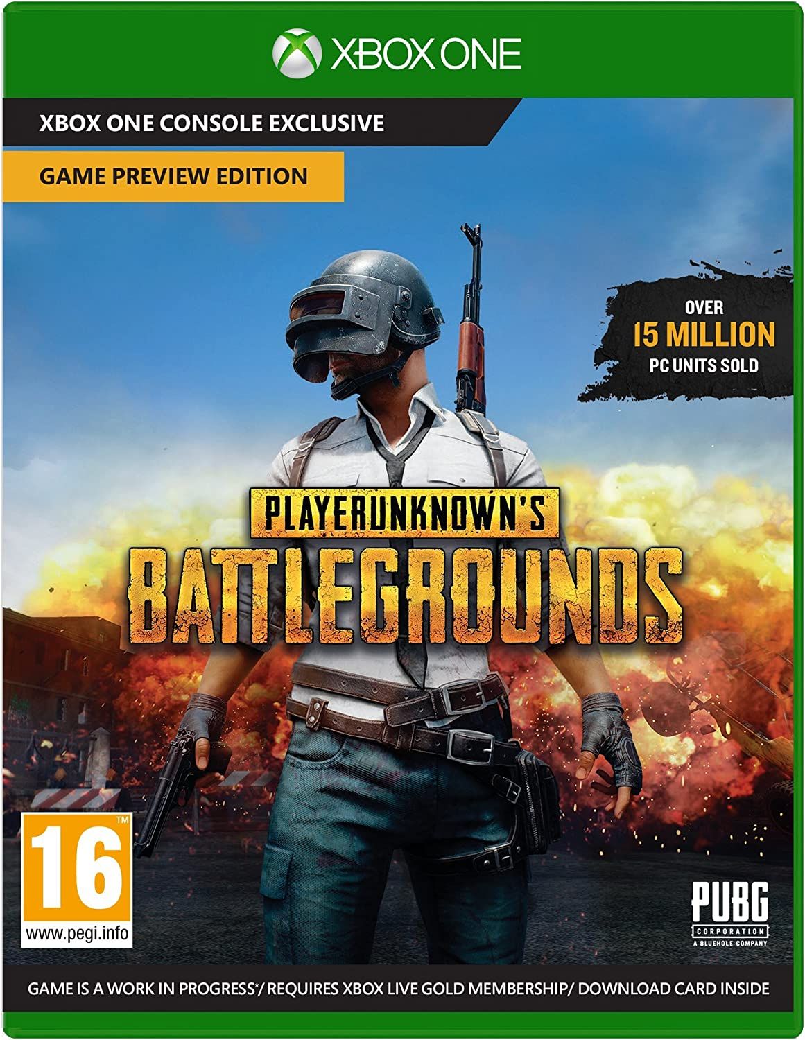 Playerunknowns Battlegrounds - Game Preview Edition - Xbox One ...