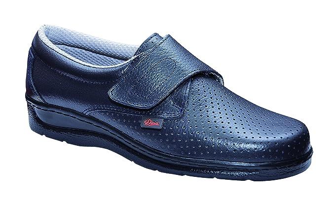 Dian 1900 - Zapato de trabajo unisex-adulto, talla 34, color azul