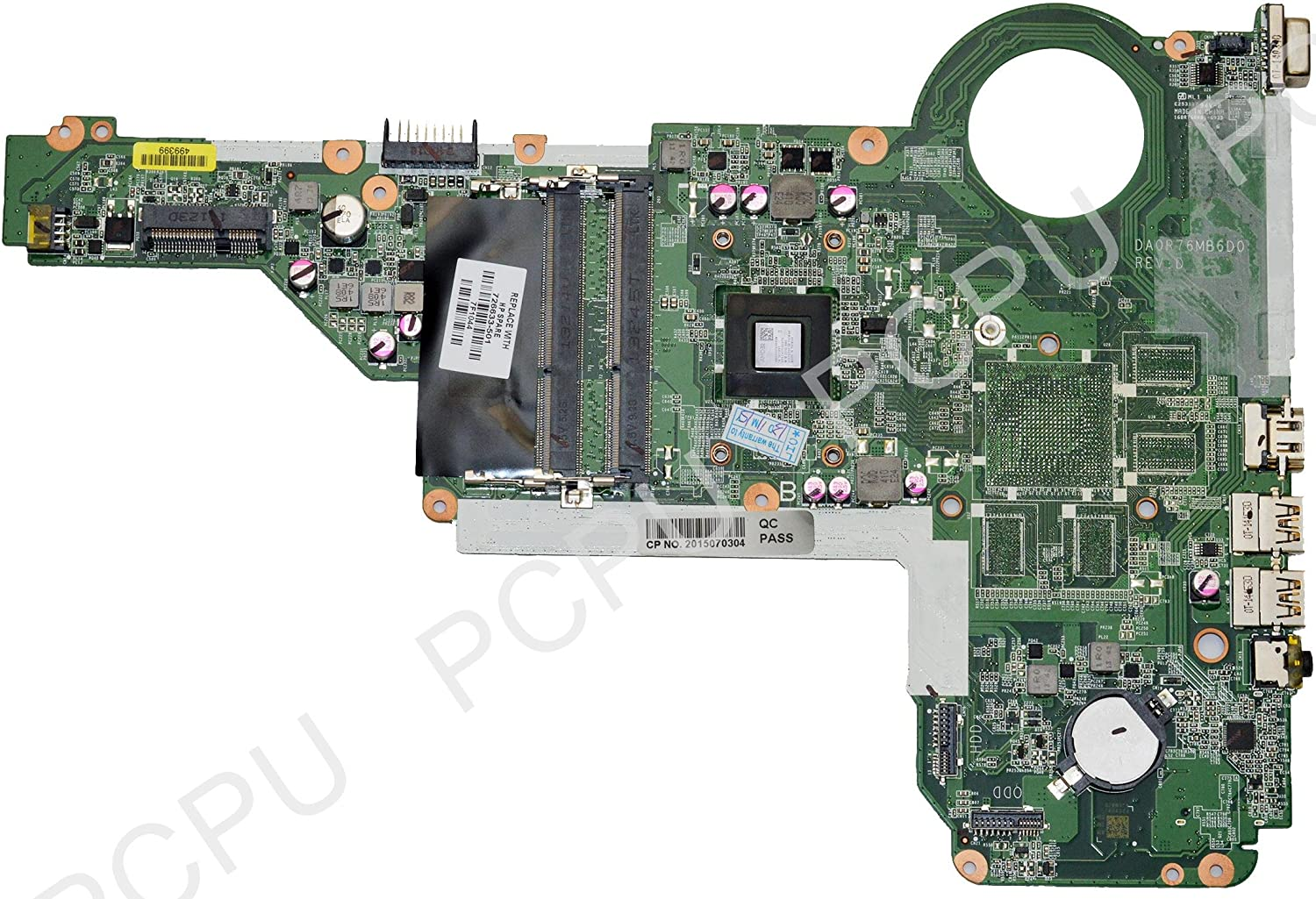 HP Pavilion 17-E Laptop Motherboard w/ AMD A6-5200M 2.0GHz CPU
