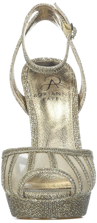 Adrianna Papell Women's Saida US|Platino Pump B075SQF9YM 9.5 B(M) US|Platino Saida Jimmy Net 2a6e95