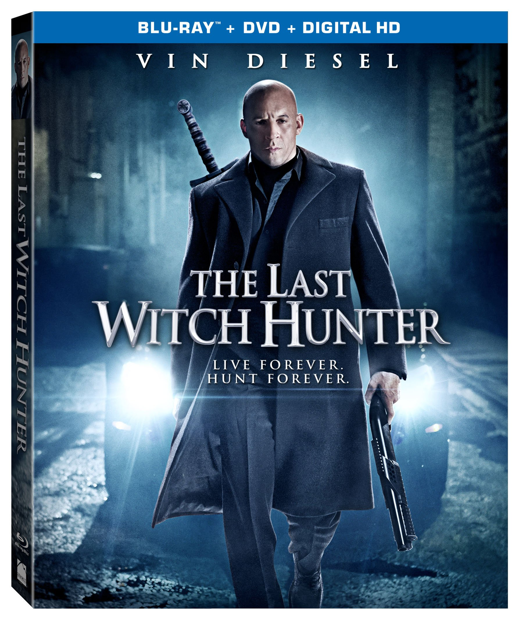 Blu-ray : The Last Witch Hunter (2 Disc)