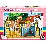 Schmidt Spiele 56187 Bibi und Tina auf Martinshof Puzzles, 100 Teile