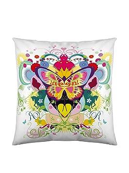 Kashi Kisu Housse Coussin Fly 60x60 multicolore: Amazon.fr