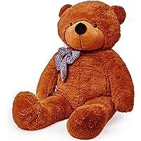 Lumaland gigante XXL teddy Orso Marrone 120cm peluche orsetto peluche