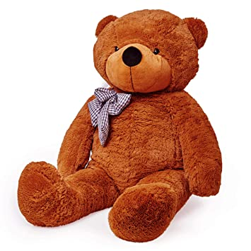 Lumaland Fortuna XXL oso de peluche Marrón 120 cm Peluche Oso de peluche