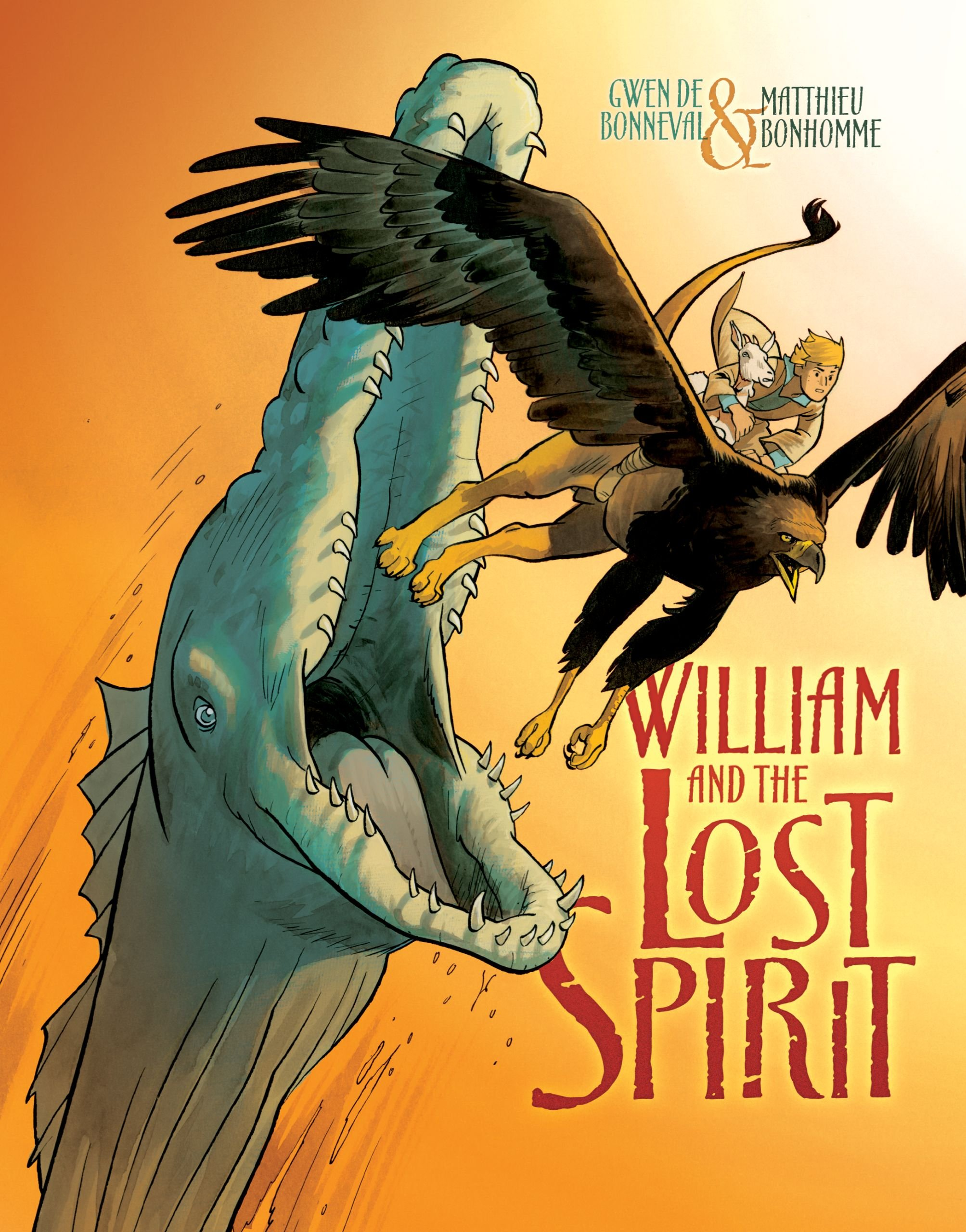 Download William and the Lost Spirit (Graphic Universe) ebook