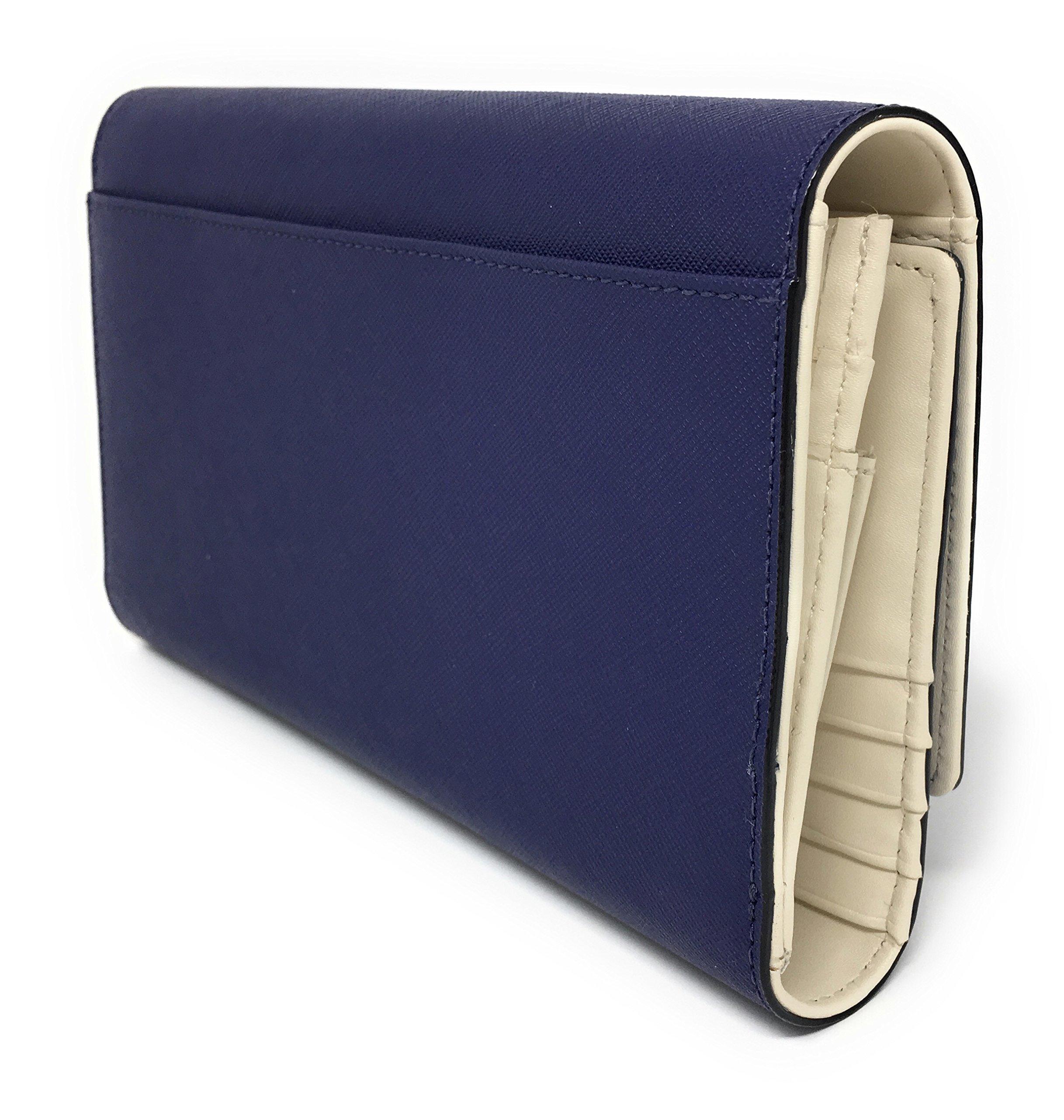 Kate Spade New York Mikas Pond Phoenix Trifold Leather Wallet (Sapphire) by Kate Spade New York (Image #3)