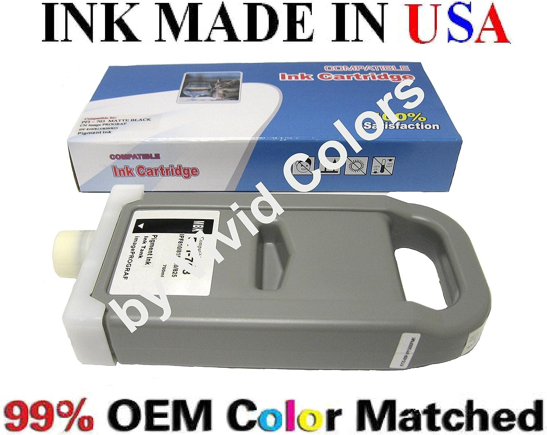 Compatible Cartridge for canon PFI-703 Matte Black Ink iPF810 iPF815 iPF820