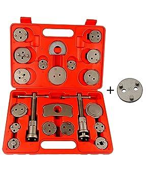Reposición Pistón de freno Resetter de pistón KIT pistón Placa trasera 21 partes nuevas CBR21-