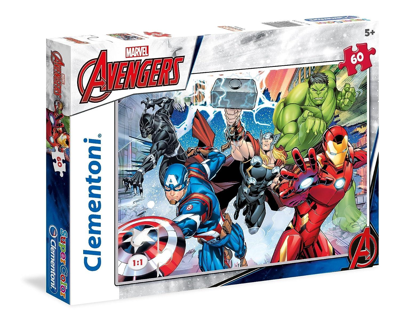 Clementoni - 26979 - Supercolor Puzzle - The Avengers Puzzle - 60Pièces