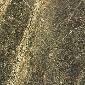 Saturn Bodenfliesen Poliert Verde Grun Marmoriert 60x60cm Amazon De