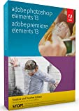 Adobe Photoshop & Premiere Elements - Student and Teacher Edition 13 [Old Version] - Validation Required