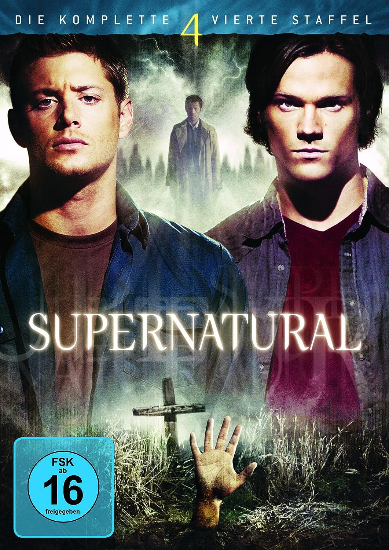 Supernatural - Die komplette vierte Staffel [Alemania] [DVD]