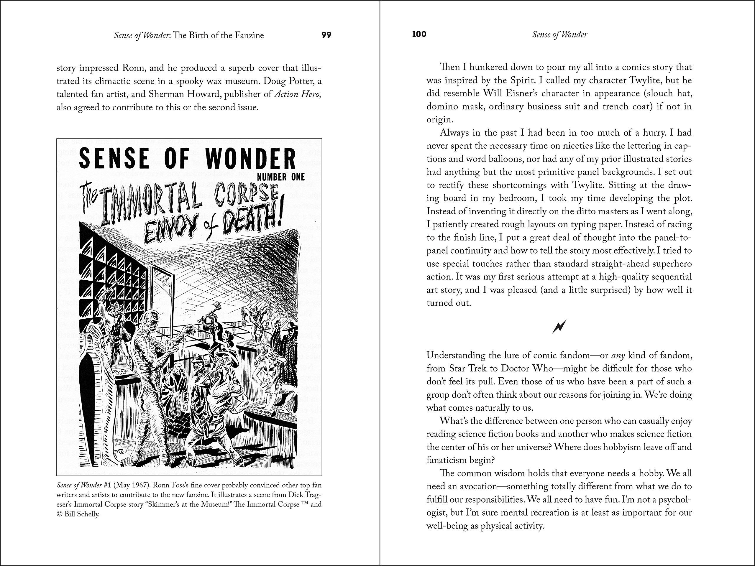 Amazon Sense Of Wonder My Life In Comic Fandom The Whole