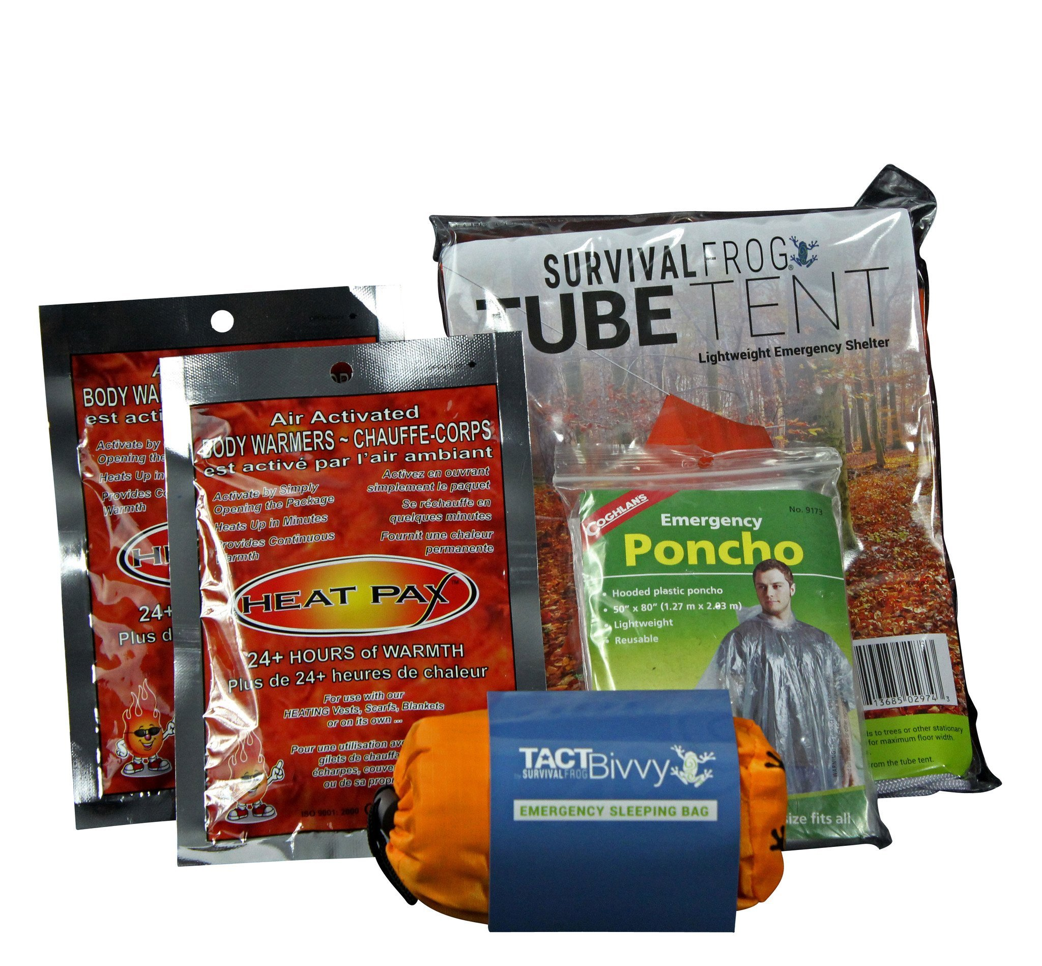Survival Frog Warmth & Outdoor Shelter Kit