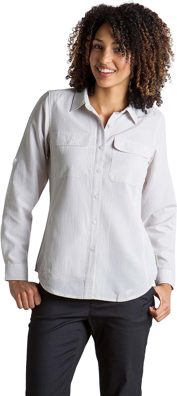 ExOfficio Womens Rotova Casual Long Sleeve Shirt