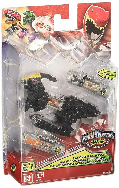 Power Rangers 17542250 Set Di 2 Caricatori Per Dinosauri Amazon