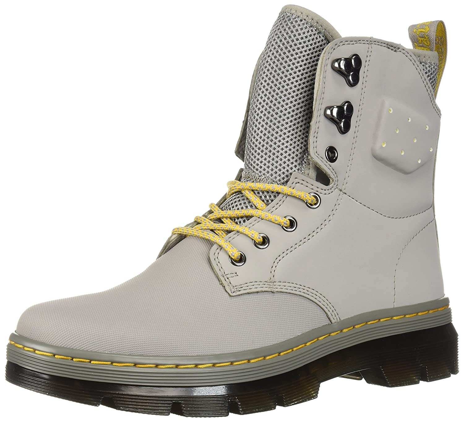 Dr. Martens Quinton Fashion Boot B071K21BQZ 11 Medium UK (US Men's 12 US)|Grey