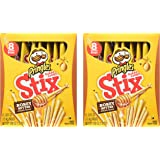 Pringles Baked Crispy Stix Honey Butter - Pack of 2 (4.88oz Each Pack)