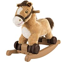 Rockin' Rider Charger 2-in-1 Pony Ride-On (Brown)