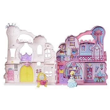 Amazon.es: Hasbro Disney Princess B6317 Przenośny zamek Kopciuszka z ...