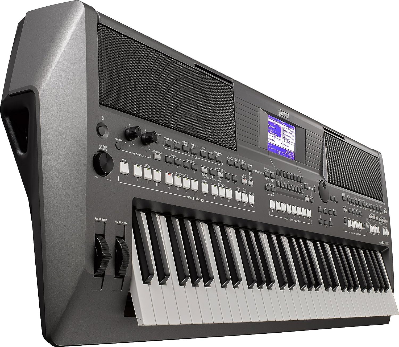 Amazon.com: YAMAHA PORTATONE digital electronic keyboard piano PSR-S670 61 keys PSRS670 Black: Musical Instruments