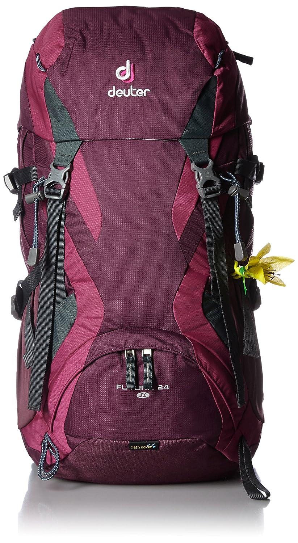 Deuter Futura Mochila para Montaña, Mujer, Rojo (Blackberry/Magenta), 24 l: Amazon.es: Deportes y aire libre