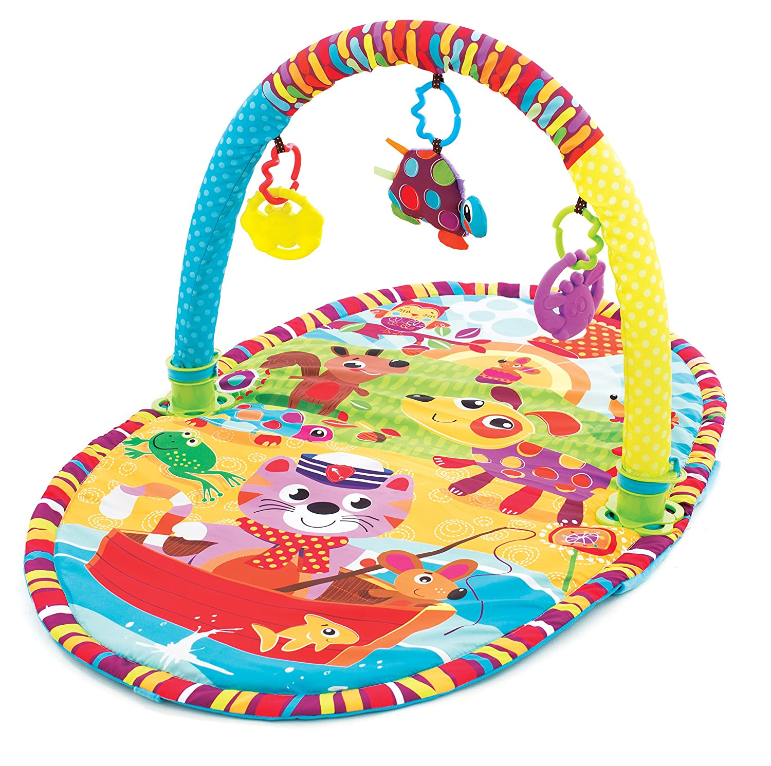 Playgro Play in the Park Activity Gym for baby infant toddler children 0184213 Playgro is Encouraging Imagination with STEM//STEM for a bright future Great start for a world of learning