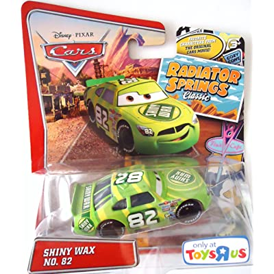 Pixar Cars Radiator Springs Classic Exclusive Shiny Wax 1:55 Scale Mattel: Toys & Games