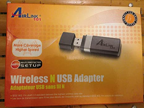 AirLink101 Dual Band Wireless N USB Adapter Driver PC
