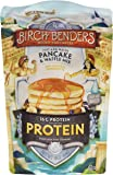 Birch Benders Micro-Pancakery Protein Just-Add-Water Pancake & Waffle Mix, 16 oz, 6 Count