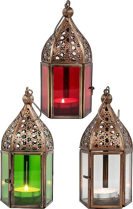 Home Collection Maison Ameublement D/écoration Lanterne de Bougie D/écorative