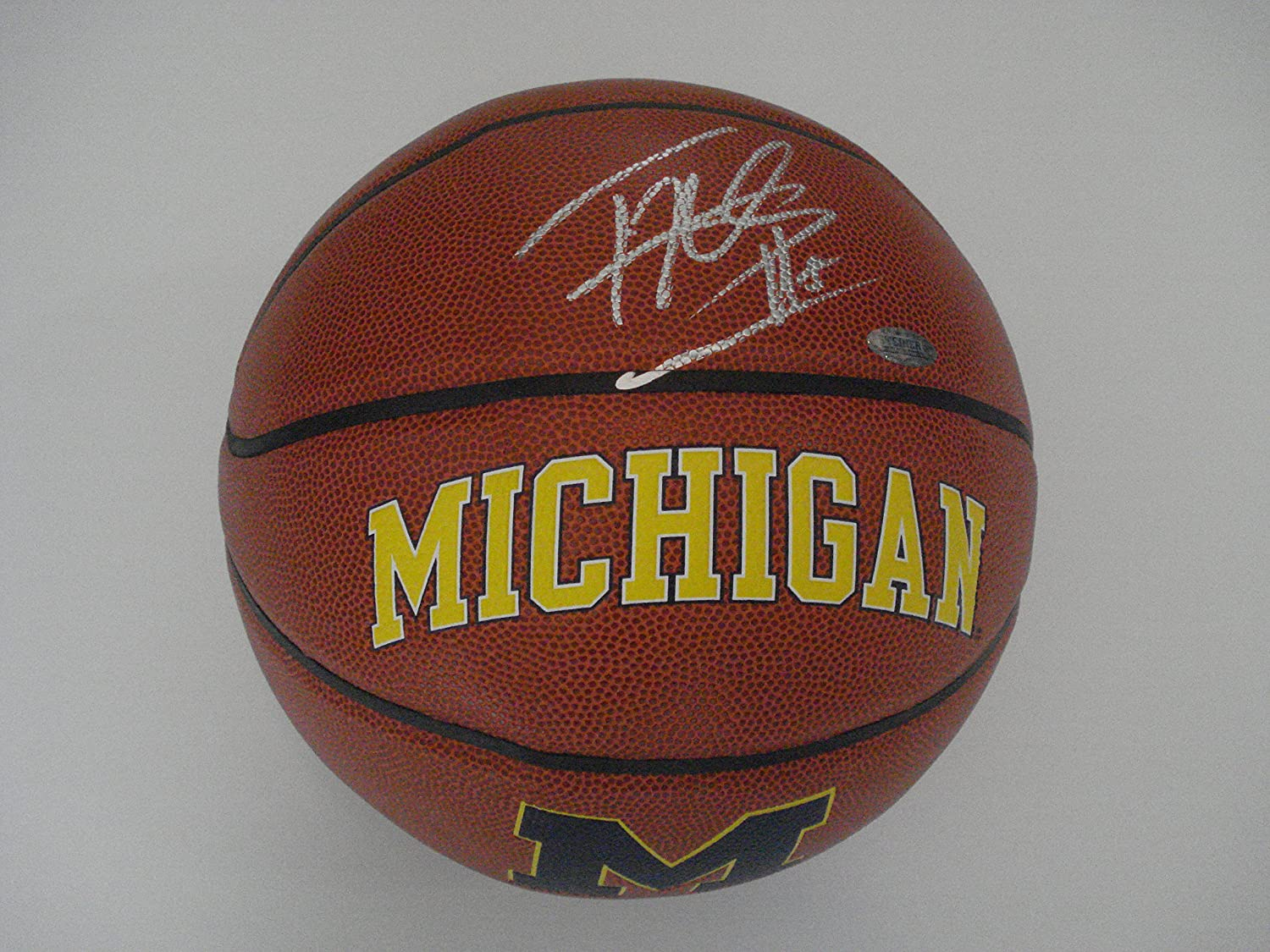 587aca1cb1c Knicks Tim Hardaway Jr. autographed full size Michigan basketball Steiner  at Amazon's Sports Collectibles Store