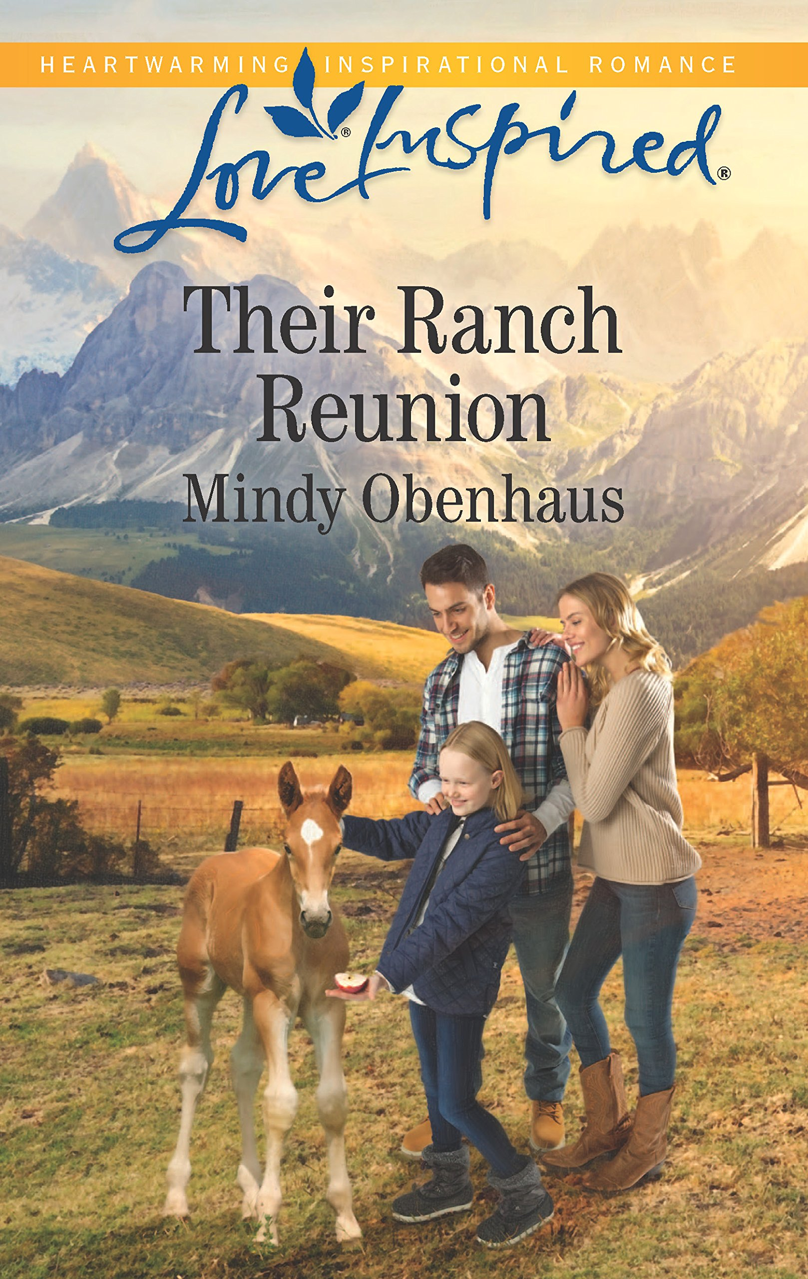 Their Ranch Reunion (Rocky Mountain Heroes) by Love Inspired
