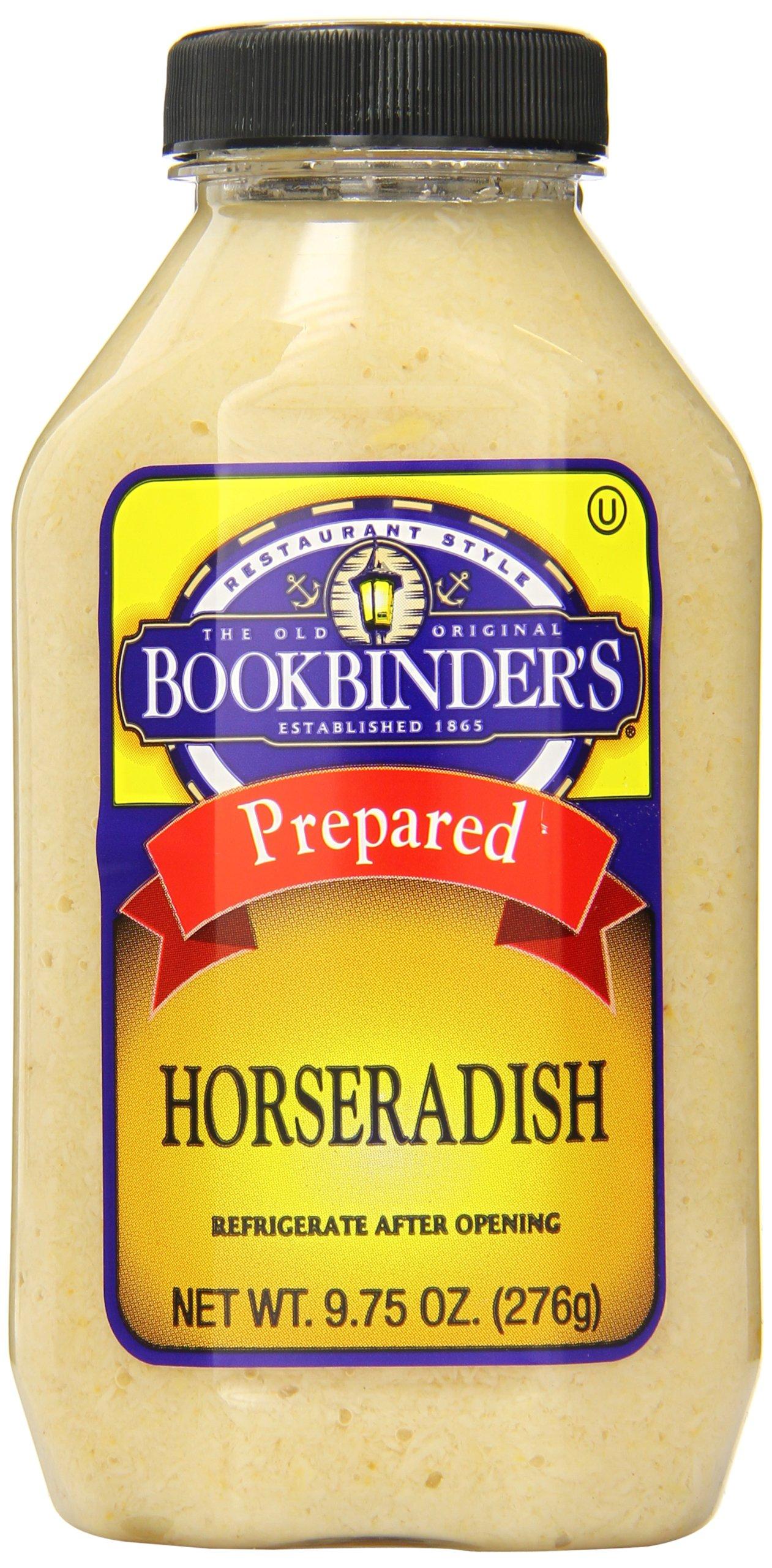 Bookbinder's Prepared Horseradish, 9.75 Ounce (Pack of 9)