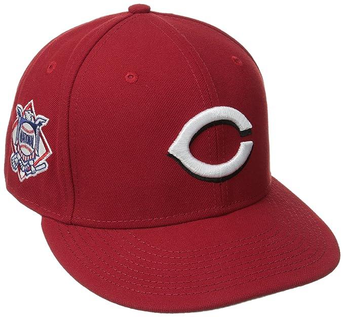 c42b44a3b New Era Cincinnati Reds Baycik 9Fifty Men's Snapback Hat Cap  Red/White/Black 10581465