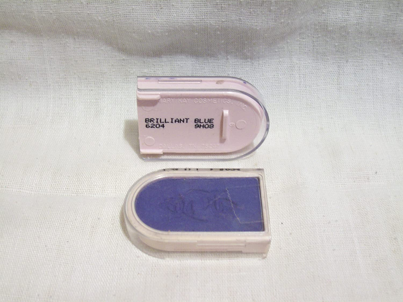 Mary Kay Powder Perfect Eye Color Shadow ~ Brilliant Blue #6204 Eyeshadow