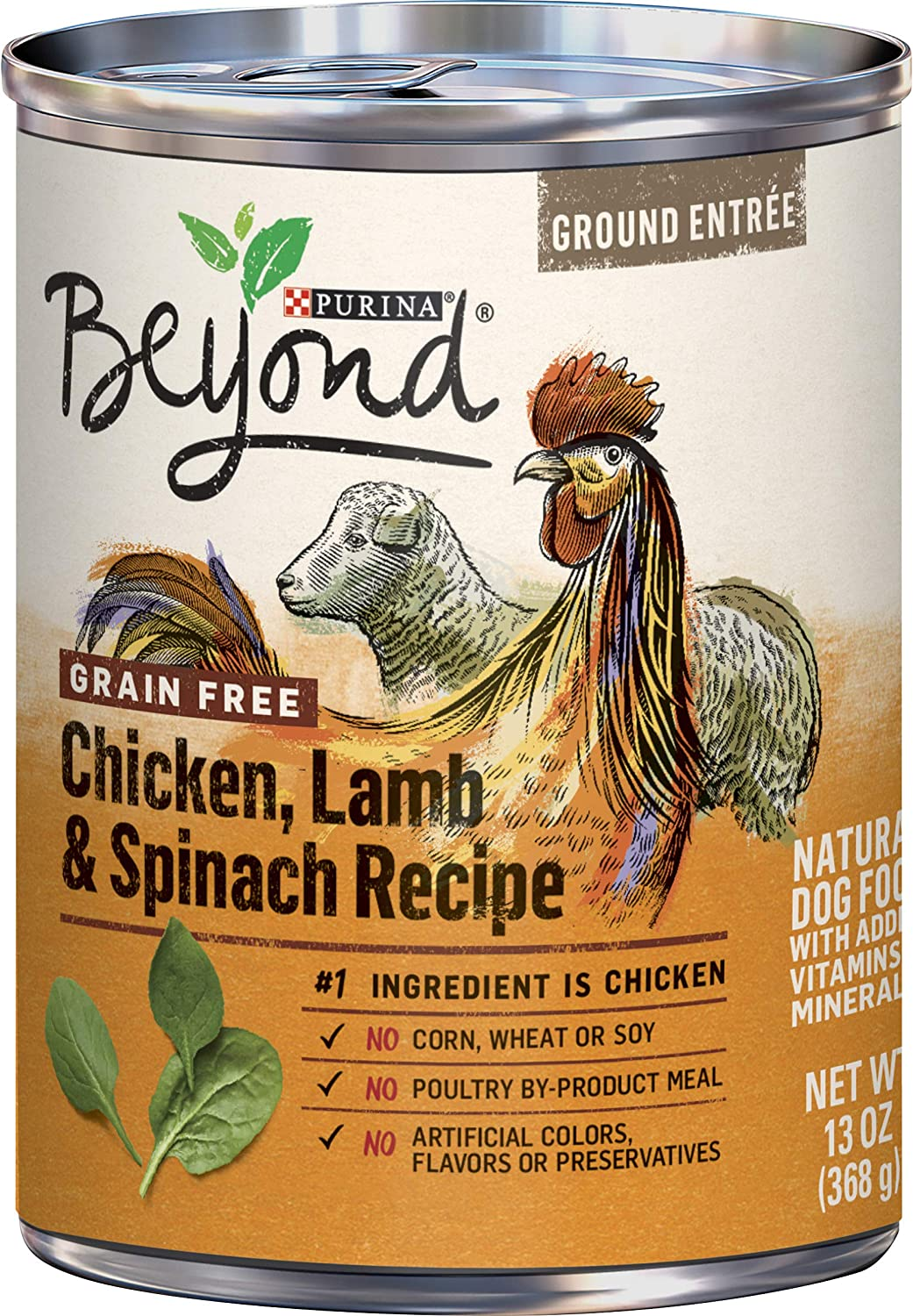 Purina Beyond Grain Free, Natural, Adult Wet Dog Food