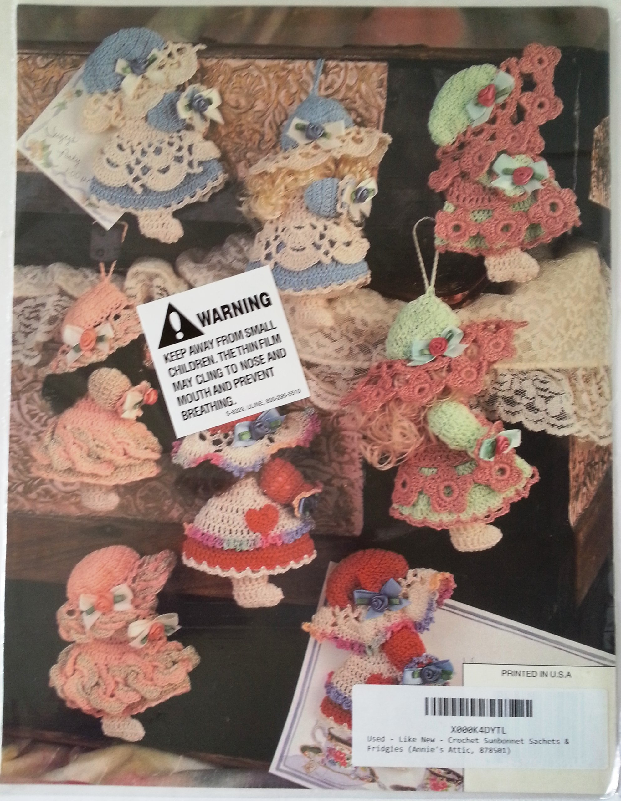 Crocheted Fridg-ees Stitching Craft Book