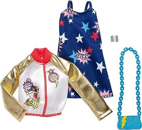 Barbie Comics Wonder Woman Tank Top Fashion Pack