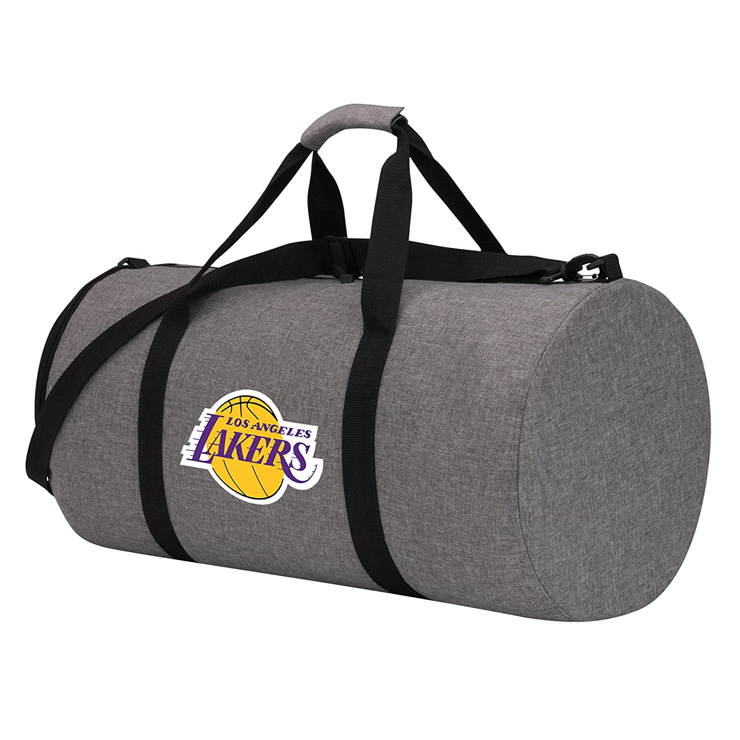 24 x 12 x 12 Officially Licensed NBA Wingman Duffle Bag Gray