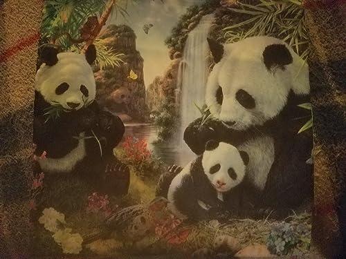 Panda Design 18 x18 Inch Pillow