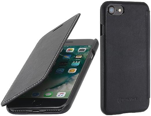 "5 opinioni per StilGut Book Type Case, custodia in pelle cover per iPhone 7 & iPhone 8 (4,7"")."