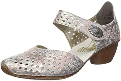High Quality Cheap Online Free Shipping Supply Womens 43758-90 Mary Janes Rieker p1THw0