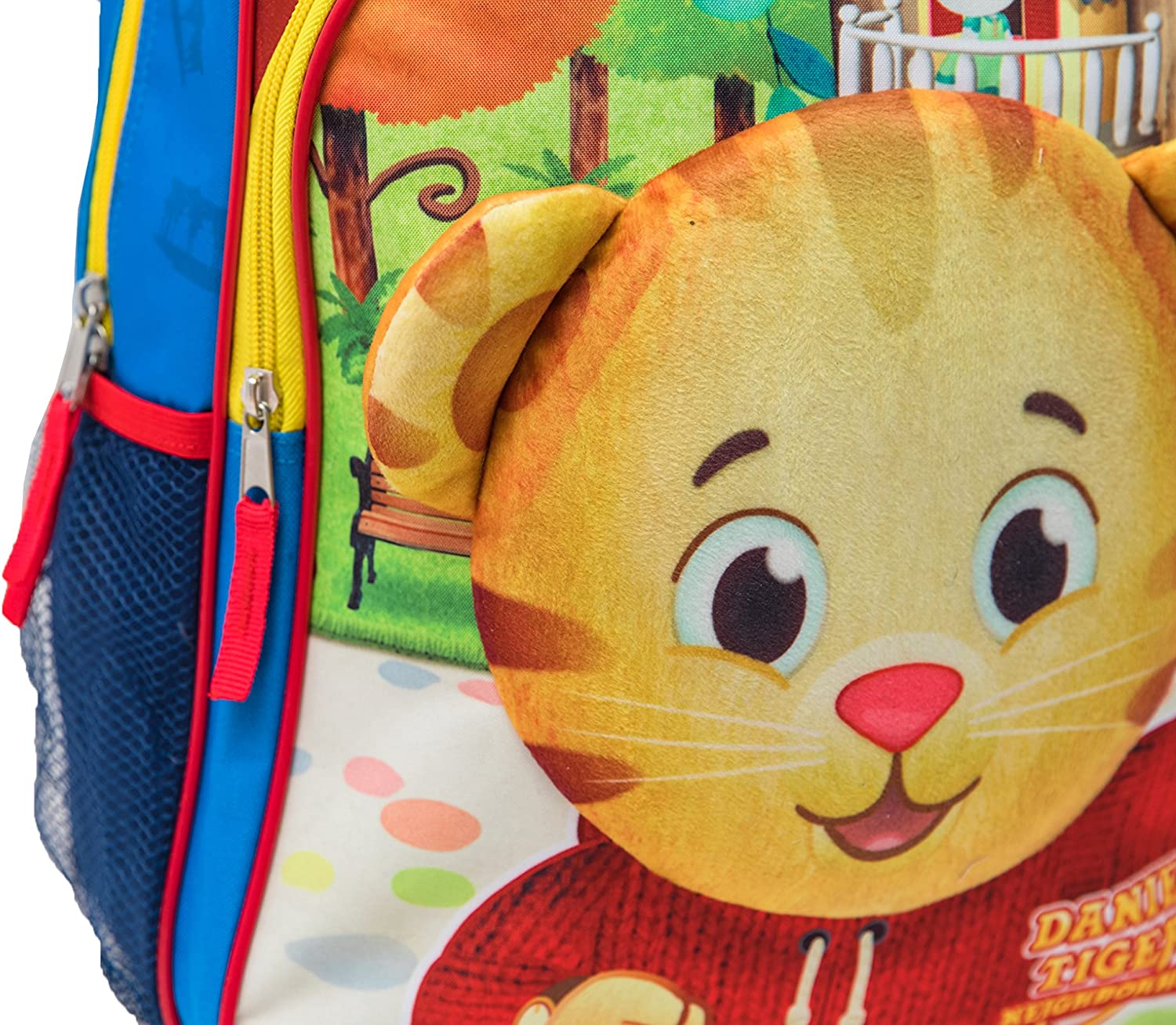 The Fred Rogers Company Daniel Tiger Backpack with Plush Applique