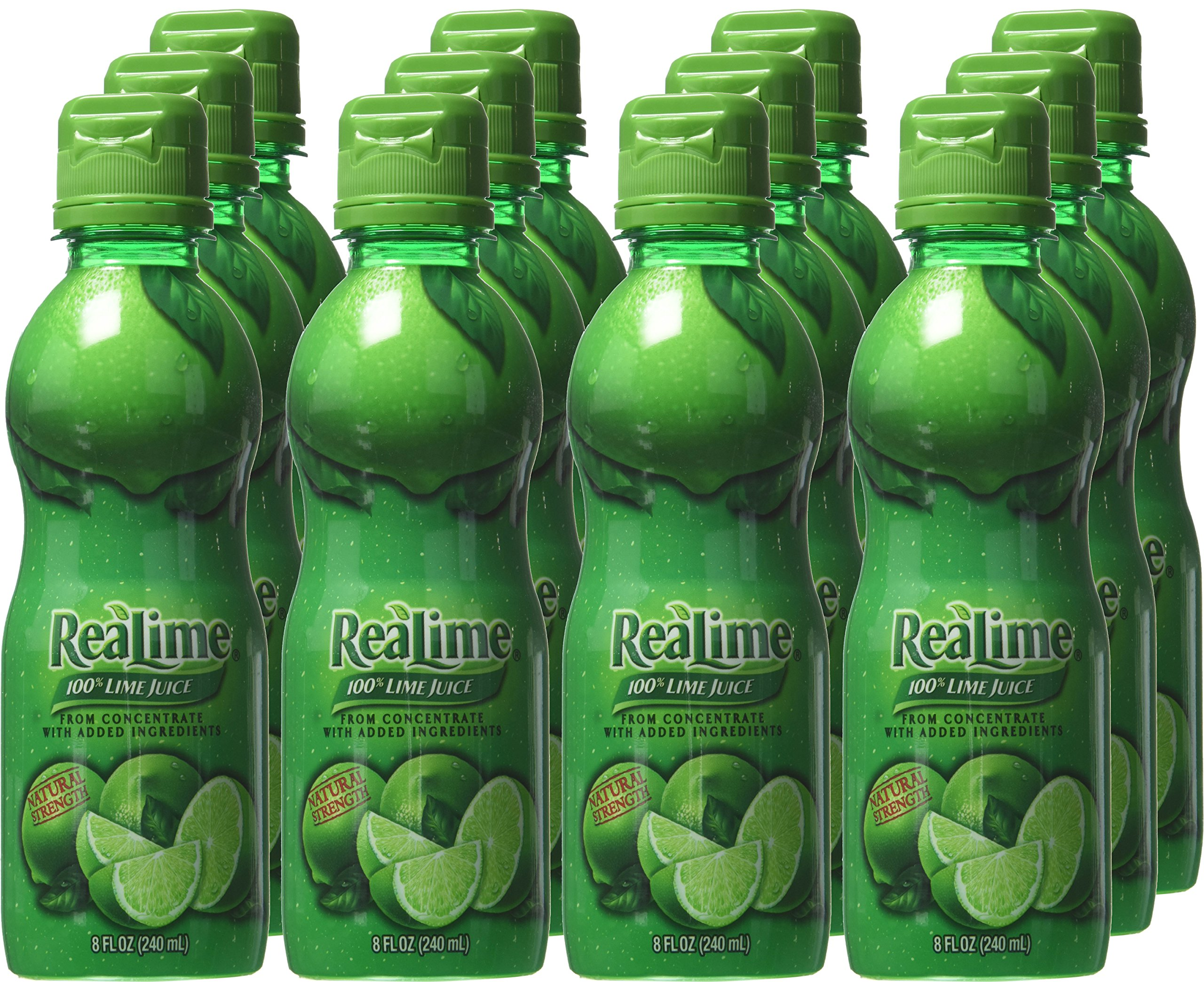 ReaLime 100% Lime Juice, 8 fl oz bottles (Pack of 12) by Realime (Image #2)